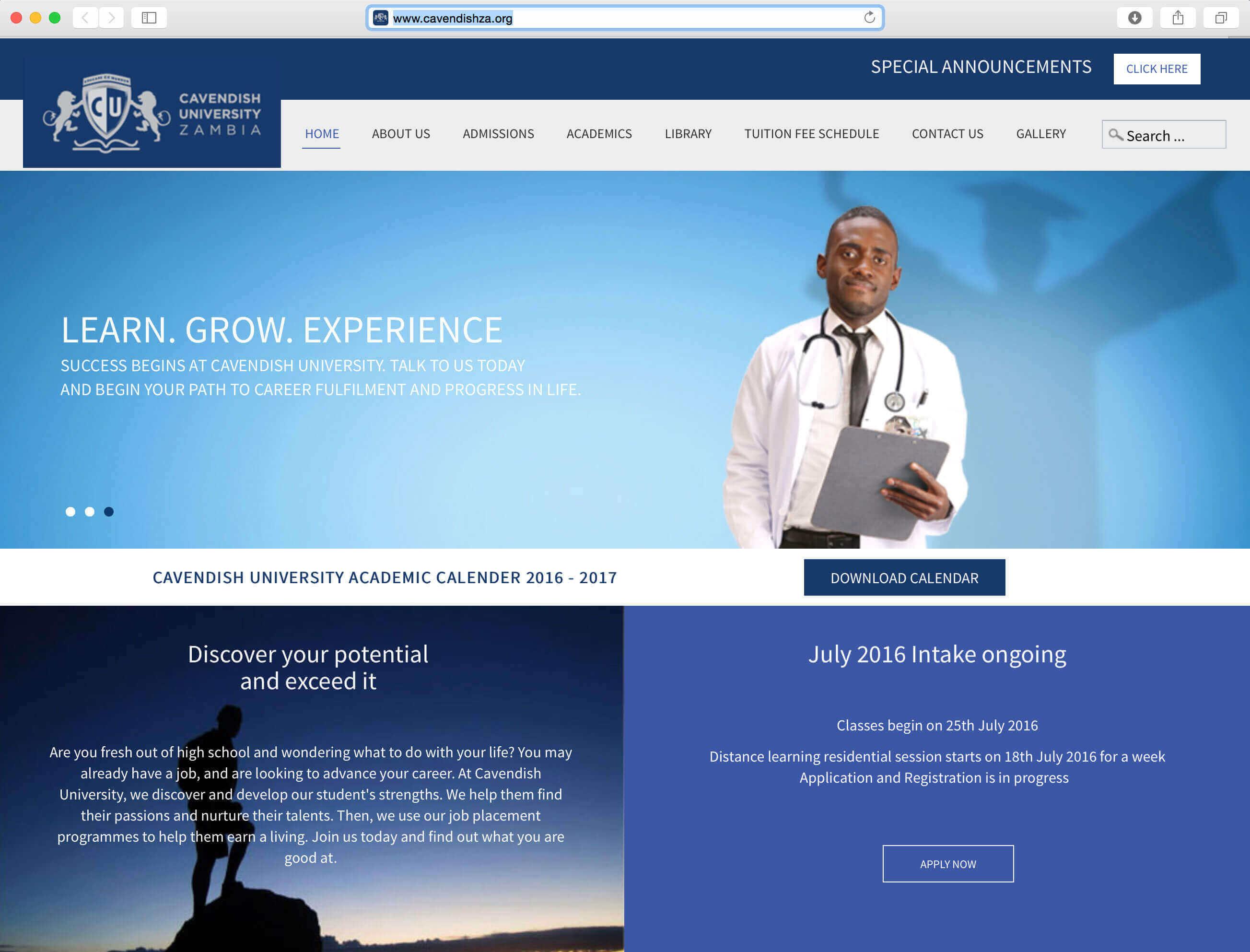 right here portfolio cavendish website